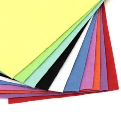Филц мек 1.5 мм A4 20x30 см цвят АСОРТЕ -1 брой