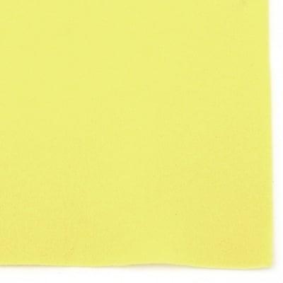 Филц мек 1 мм A4 20x30 см цвят жълт -1 брой