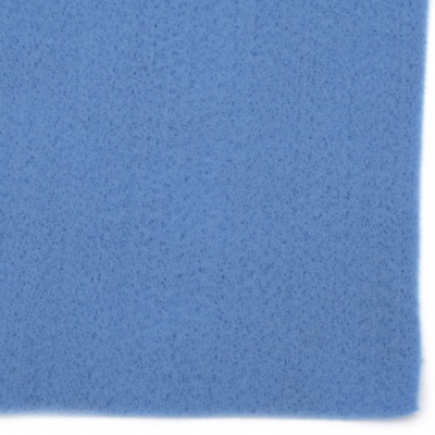 Филц мек 1 мм A4 20x30 см цвят син -1 брой