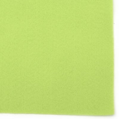 Филц мек 1 мм A4 20x30 см цвят лайм -1 брой