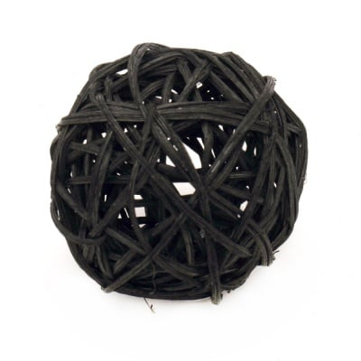 Сухи топки дърво 70 мм черни