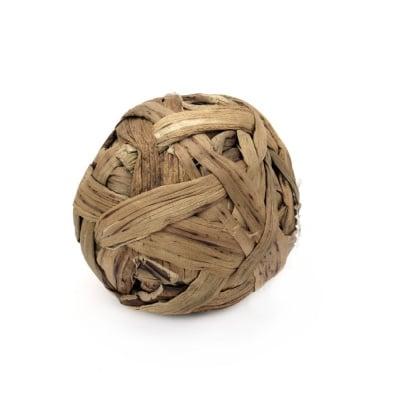 Топка за декорация от естествени материали 75 мм