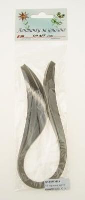 Ленти за квилинг перлени (хартия 120 гр) 8 мм/ 35 см MAJESTIC Пясъчен -50бр