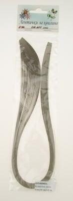 Ленти за квилинг перлени (хартия 120 гр) 4 мм/ 50 см MAJESTIC Пясъчен -50бр