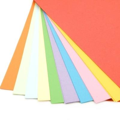 Хартия 70 гр/м2 А4 10 цвята -100 листа