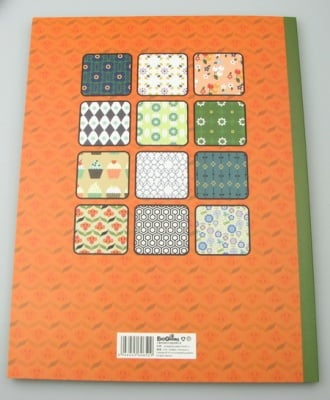 Дизайнерска хартия за скрапбукинг книга (22.5x30.4 см) 24 листа x 46.5x31 см