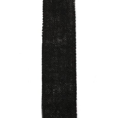 Основа за апликация лента зебло 6x200 см черна