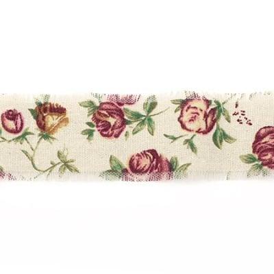 Лента памук за декорация винтидж 5x200 см