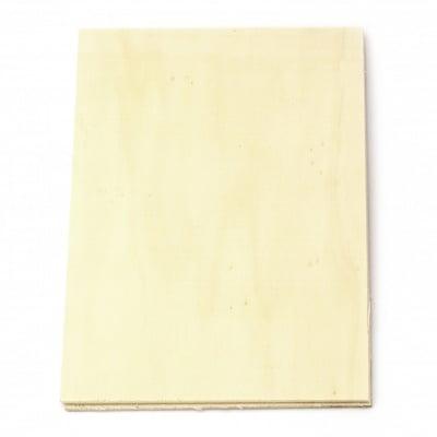 Дървена основа 300x400 мм  дебелина -3 мм -2 броя