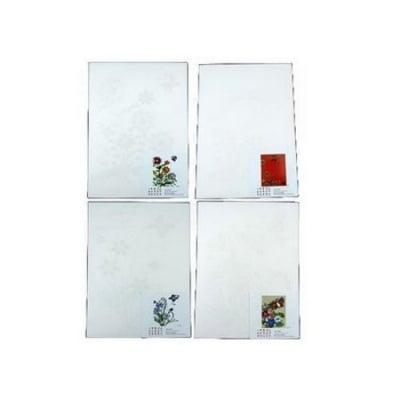 Схема за квилинг А4 /21x29 см/ и модел -серия цветя и пеперуди 4 вида -1 бр