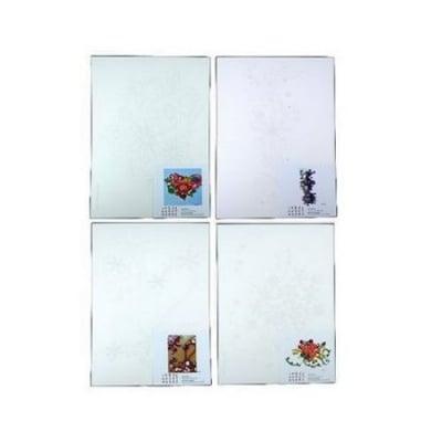 Схема за квилинг А4 /21x29 см/ и модел -серия картина от цветя 4 вида -1 бр