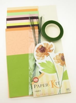 Комплект за направа на 5 броя цветя