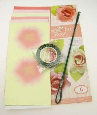 Комплект за направа на 6 броя цветя Роза