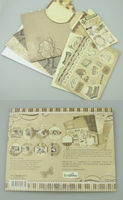 Комплект за направа и декорация на албум 4 снимки