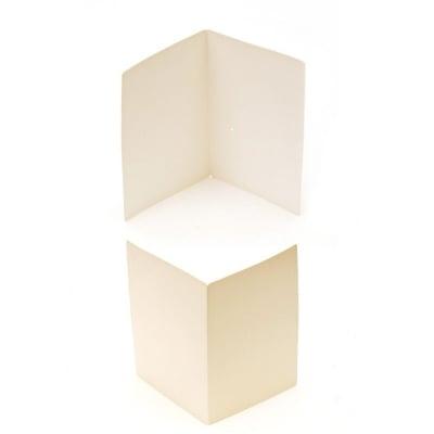 Основа за картичка 15.2x21 см цвят бял ЛУКС