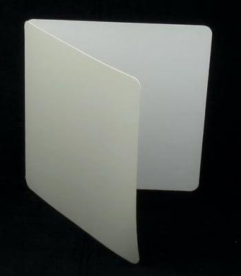 Основа за картичка 16x32.2 см цвят бял ЛУКС