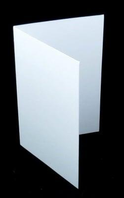 Основи за картички 10x15 см цвят бял 10 броя