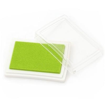 Тампон с пигментно мастило 6x3.8 см цвят светло зелен
