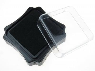 Тампон с пигментно мастило 6.2x2.1 см цвят черен