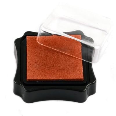 Тампон с пигментно мастило 6.2x2.1 см цвят оранжев