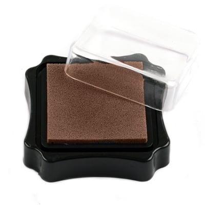 Тампон с пигментно мастило 6.2x2.1 см цвят кафяв