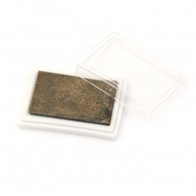 Тампон с пигментно мастило 6x3.8 см цвят злато