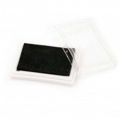 Тампон с пигментно мастило 6x3.8 см цвят черен