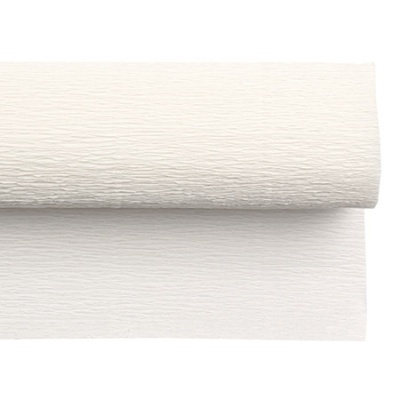Креп хартия 50x230 см бяла