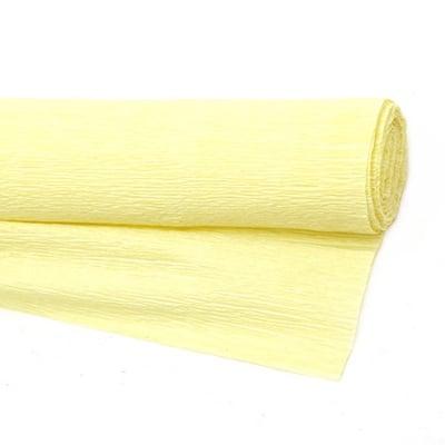 Креп хартия 50x230 см жълта