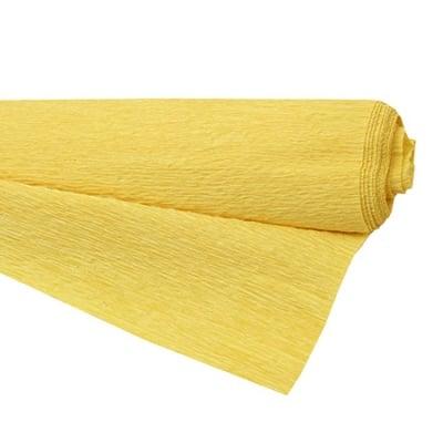 Креп хартия 50x230 см жълта тъмно