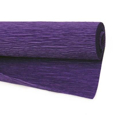 Креп хартия 50x230 см лилава наситено