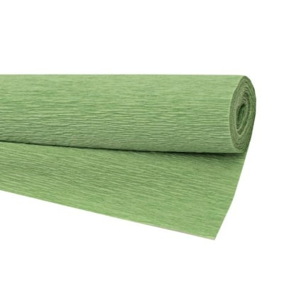 Креп хартия 50x230 см зелена