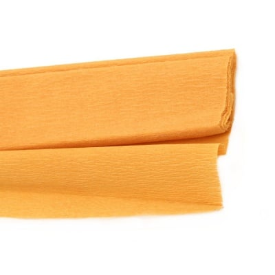 Креп хартия фина 50x200 см оранжева