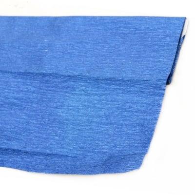 Креп хартия фина 50x100 см синя металик