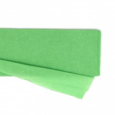 Креп хартия фина 50x100 см зелена
