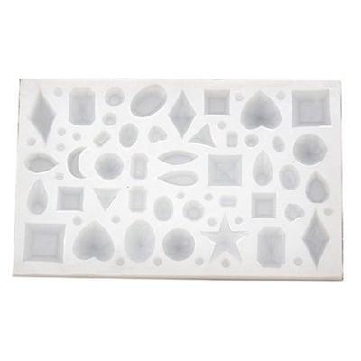 Силиконов молд /калъп/ 116x75x7 мм форми диаманти