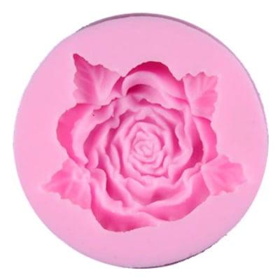 Силиконов молд /форма/ 49x49x15 мм роза