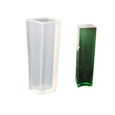 Силиконов молд /форма/ 15x14x50 мм призма четириъгълна бижутерска