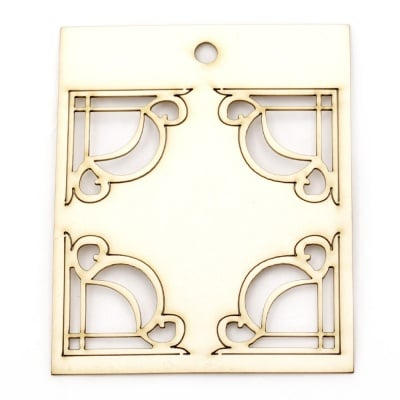 Комплект елементи от бирен картон орнаменти