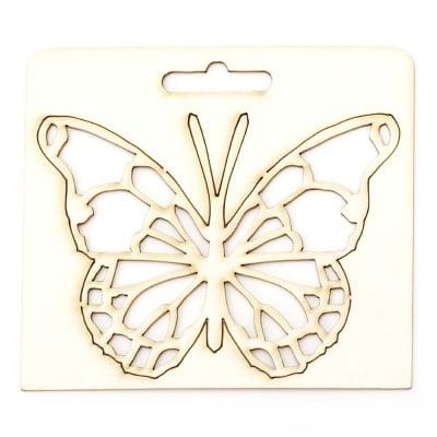 Пеперуда от бирен картон 90x115x1 мм