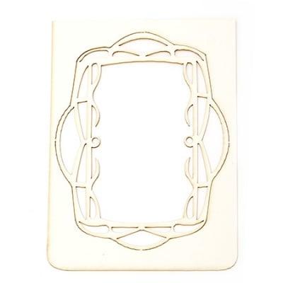 Рамка от бирен картон 21x15 см