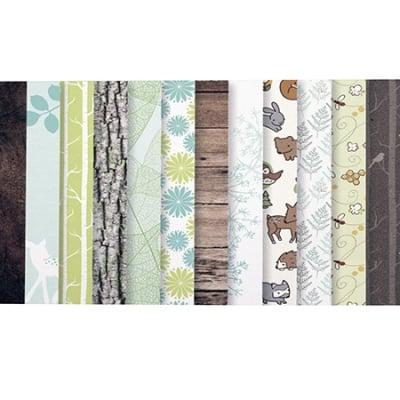 Дизайнерска хартия за скрапбукинг 6 inch (15.2x15.2 см) 12 дизайна x 3 листа