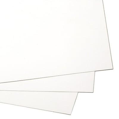 Картон 240 гр/м2 А4 (297x210 мм) едностранно гланциран бял -1 брой