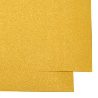 Картон перлен двустранен 250 гр/м2 А4 (297x209 мм) цвят жълт тъмно -1 брой