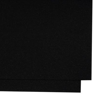 Картон перлен двустранен 250 гр/м2 с брокатен ефект А4 (297x210 мм) черен-1 брой