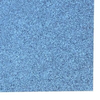 Картон с брокат 30x30 цвят син