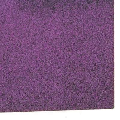 Картон с брокат 30x30 цвят лилав