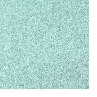 Картон с брокат 30x30 цвят тюркоаз