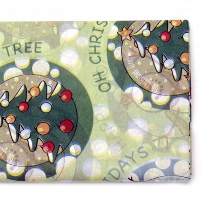 Тишу хартия 50x65 см снежен човек -10 листа