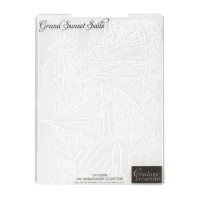 Папка за релеф 12.5x17.8 см -Grand Sunset Sails